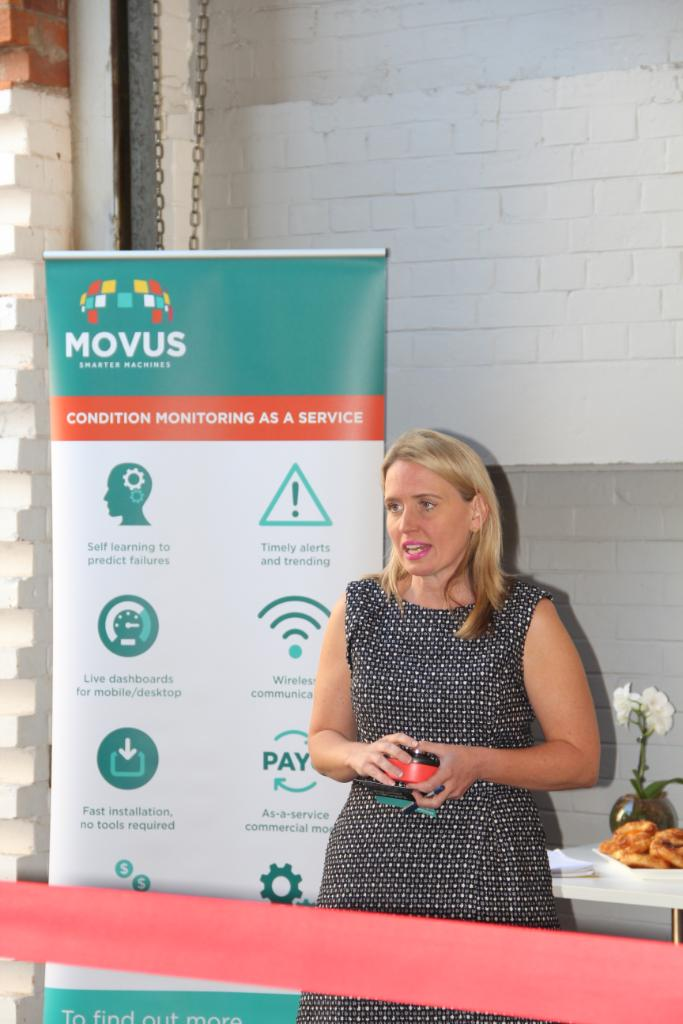 Qld Minister for Innovation Kate Jones Visits MOVUS