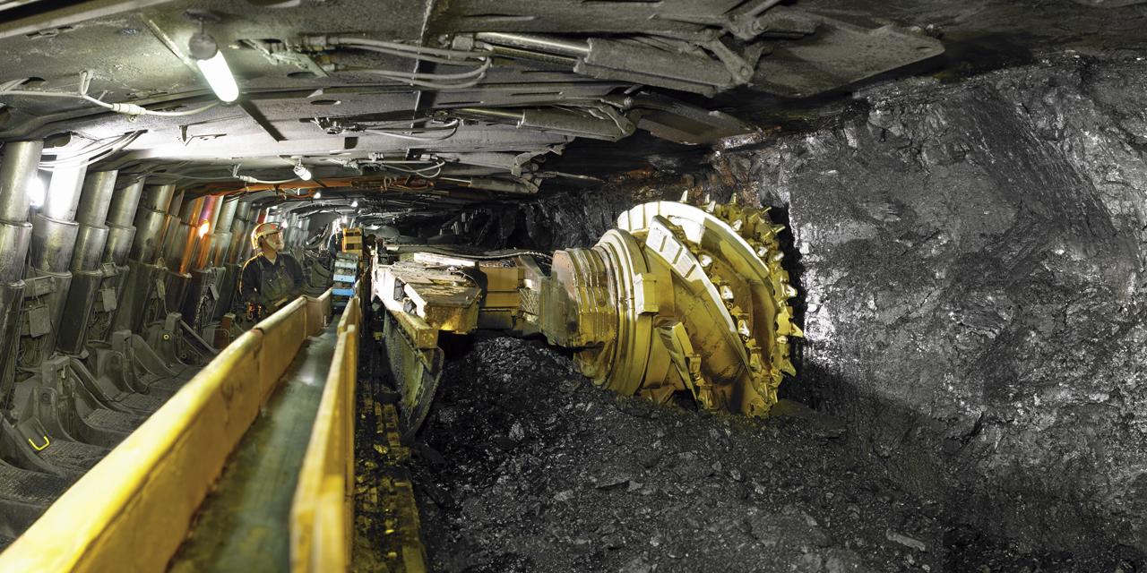 Underground coal mining operations